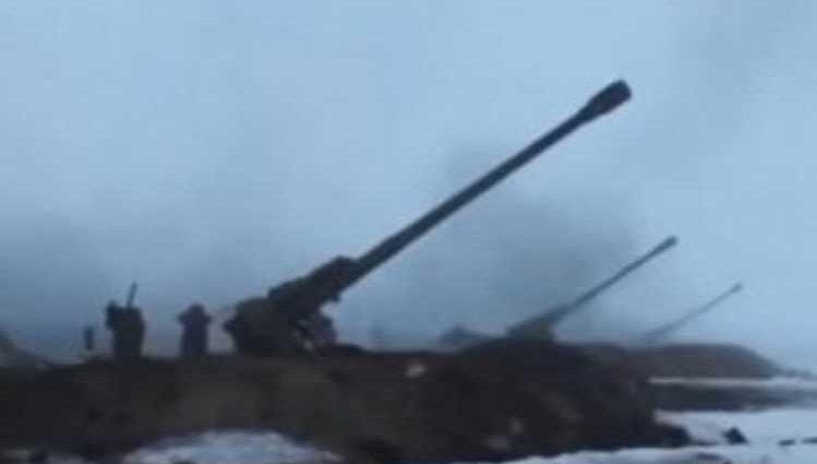 На фронте становится горячее: украинские позиции обстреляли из артиллерии