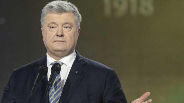 Порошенко, выступая на Львовщине, назвал Украину «агрессором» (Видео)