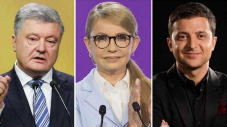 Выборы президента в Украине: определились с тройкой лидеров