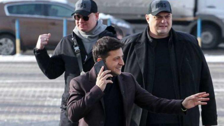 Нацполиция прекратила конфликт перед началом концерта Зеленского во Львове: показали видео