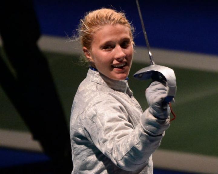 Украинская саблистка Ольга Харлан на Гран-При в Каире выиграла первую медаль в сезоне-18/19