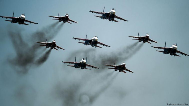 Украина подняла истребители и штурмовики в ООС — Наев