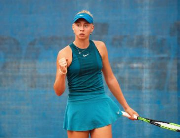 15-летняя украинка Дарья Лопатецкая выиграла теннисный турнир ITF W25 в Японии