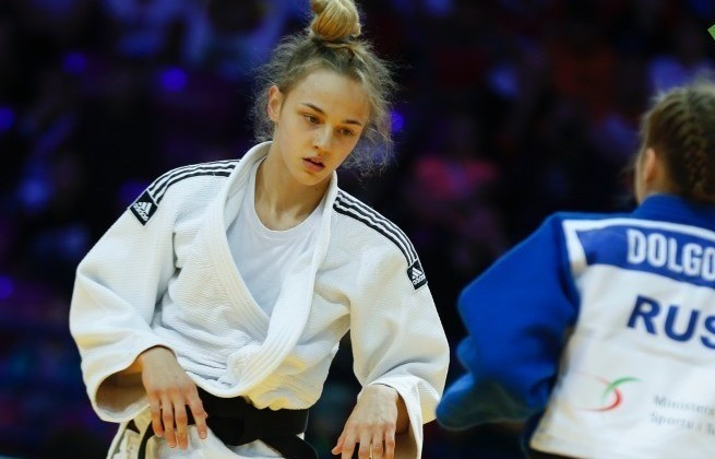 Совсем немного не хватило до победы: Дзюдоистка Дарья Билодид завоевала «серебро» на турнире в Грузии