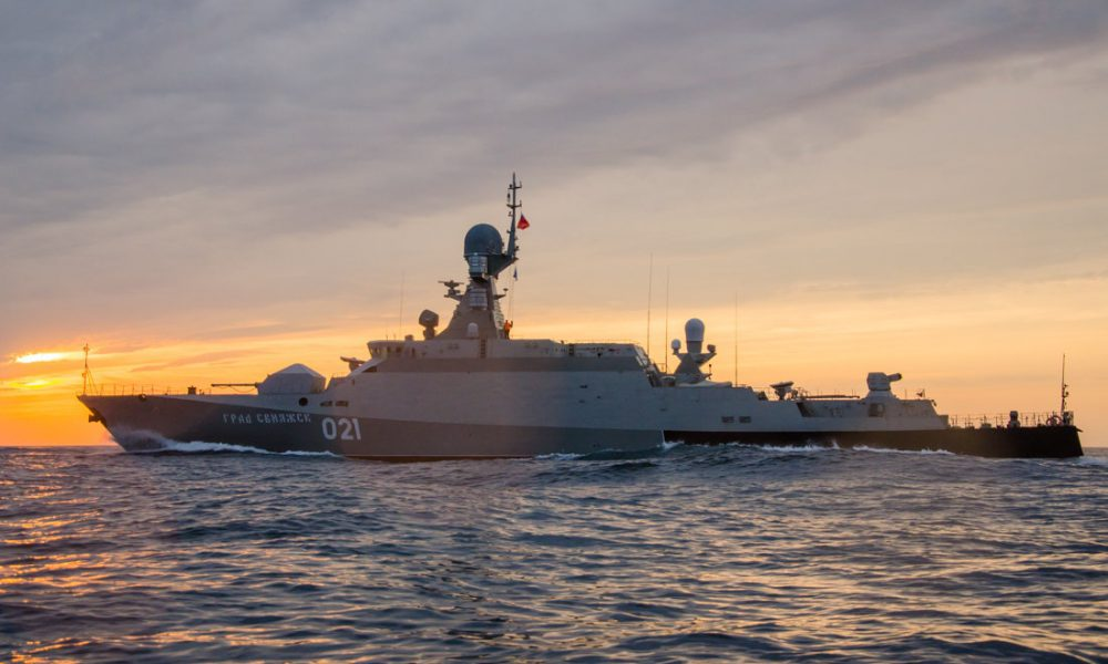 Россия готовится уничтожать военные корабли на морском пути. США готовы!