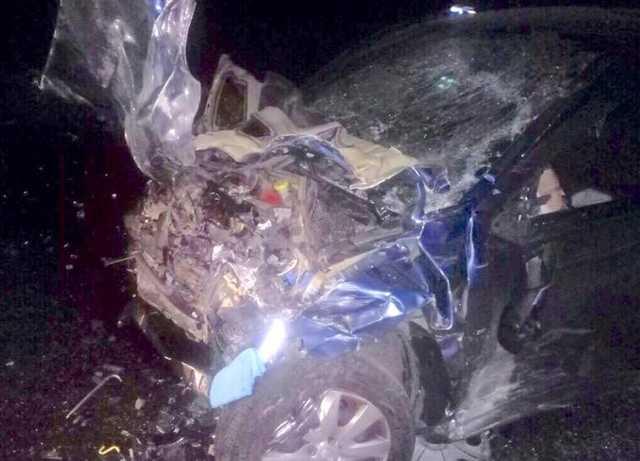 Роковая ДТП на «трассе смерти» под Киевом машины всмятку