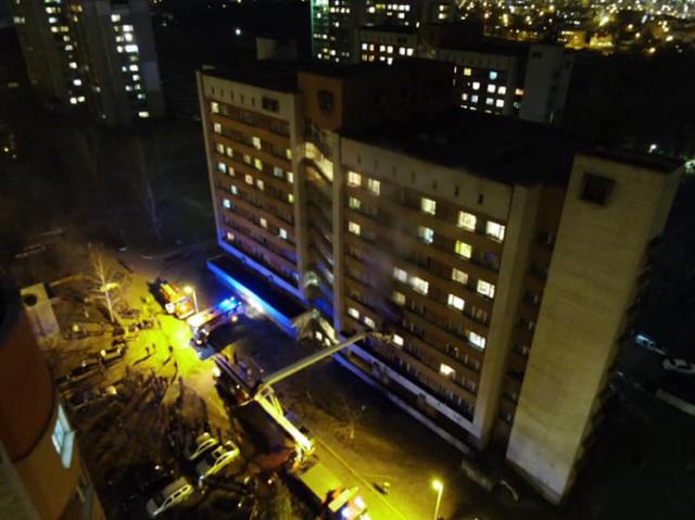 «Крики» Помогите! » и паника»: Подробности ужасного пожара в львовском студенческом общежитии