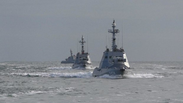 Авиация прикрывала корабли! Украинские корабли открыли огонь