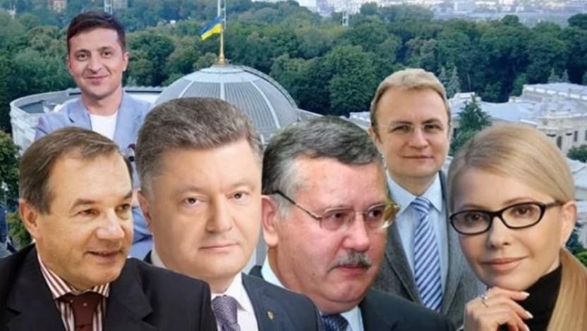 Места лидеров меняются! Тимошенко, Зеленский, Порошенко — кто в топе свежего рейтинга