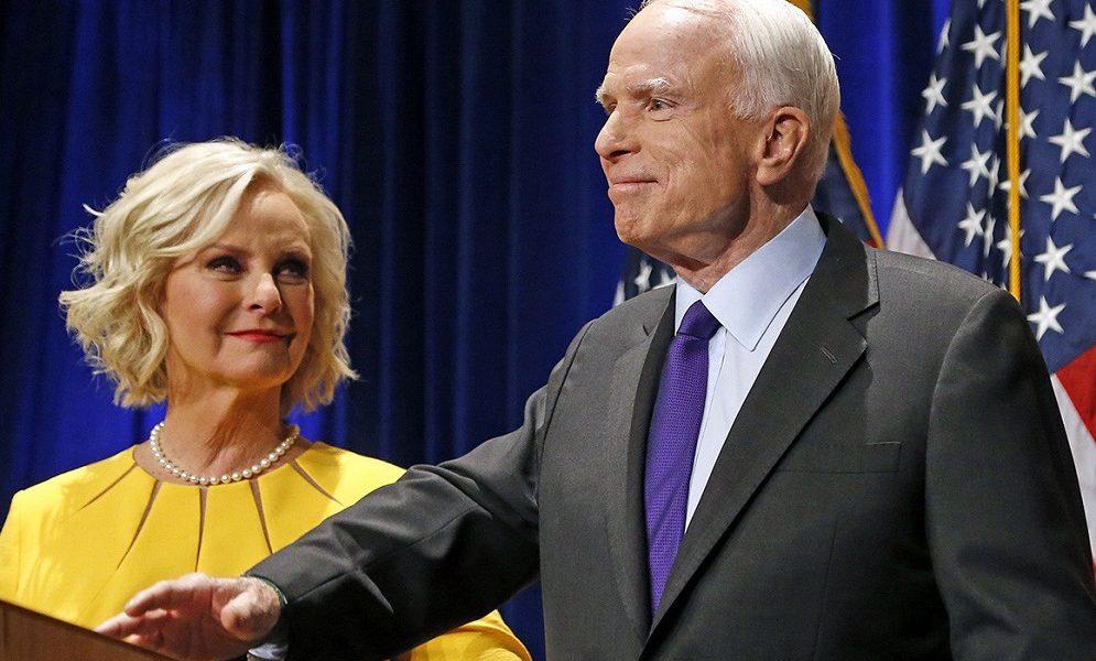Теперь я понимаю, почему он любил Украину Вдова сенатора Маккейна сделала громкое заявление