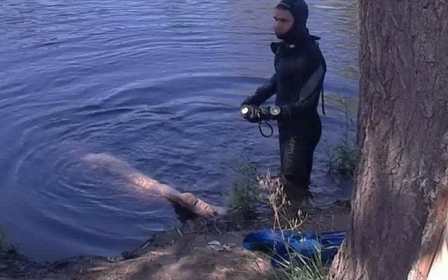 Страшная находка: В Киеве спасатели вытащили из реки труп мужчины