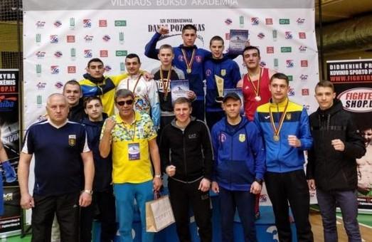 Украинец смог выбороть себе «бронзу» в Литве