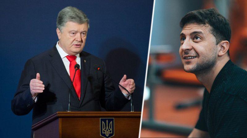«Я готов»: Владимир Зеленский заявил, что пойдет на дебаты с Петром Порошенко