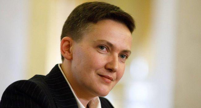Хлам в Раде! Первое громкое заявление Савченко на свободе