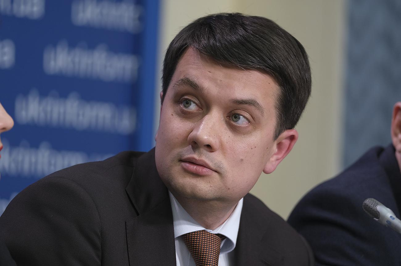 «Есть определенные временные ограничения»: Разумков назвал причину возможного роспуска парламента