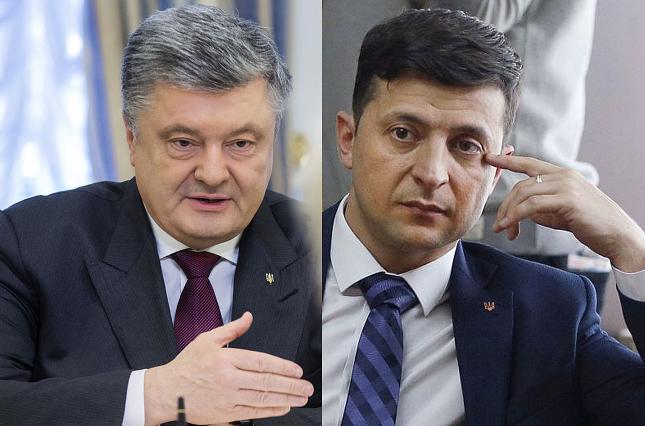 Никак не договорятся: Порошенко и Зеленский собираются на дебаты в разные даты