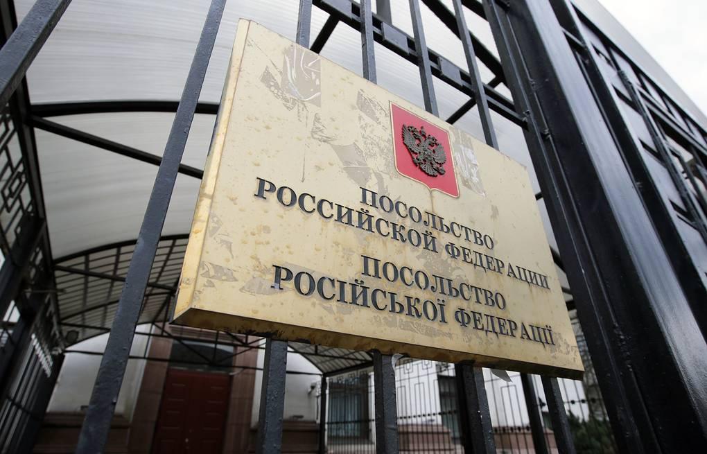 Полицейские начали проверку: В Киеве у посольства РФ прогремел взрыв