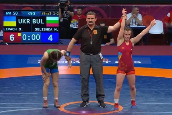 Знай наших: Украина завоевала первое «золото» Чемпионата Европы по борьбе
