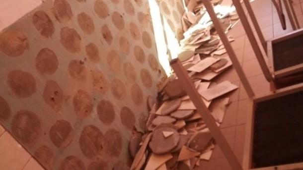 ЧП в одной из школ: На Киевщине ученику рассекло голову плиткой, что свалилась