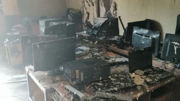 Страшный пожар: в результате ЧП сгорело министерство Минобразования