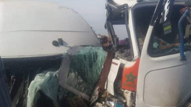 Жуткое ДТП в Марокко: автобус с людьми провалился в пропасть