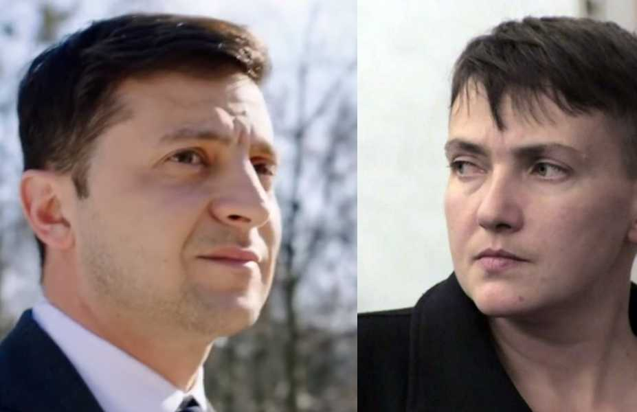 «Я помогла!» Савченко из СИЗО сделала неожиданное заявление о Зеленском