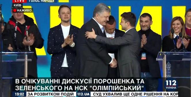 «Вы не кот в мешке — вы мешок»: онлайн-трансляция самого ожидаемого события в Украине — дебатов 2019