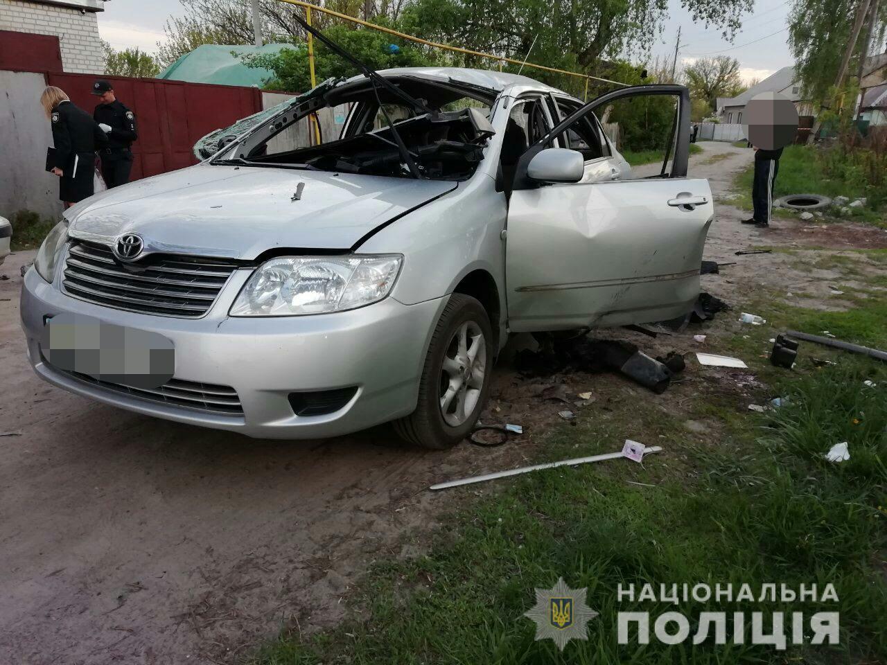 Взрыв гранаты в автомобиле в Харькове: раненый в тяжелом состоянии, ему ампутировали конечности