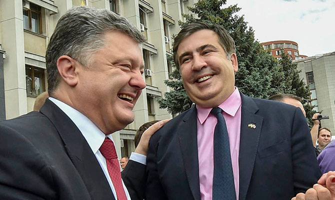 «На трезвую голову довел страну до ручки»: Саакашвили резко прошелся по Порошенко