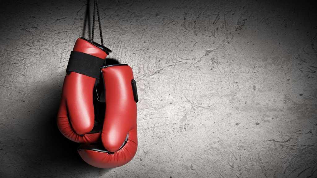 Украинский тяжеловес выиграл бой нокаутом