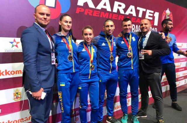 Наибольший успех наших каратистов за всю историю: Украинцы завоевали четыре медали на этапе Премьер-лиги в Рабате