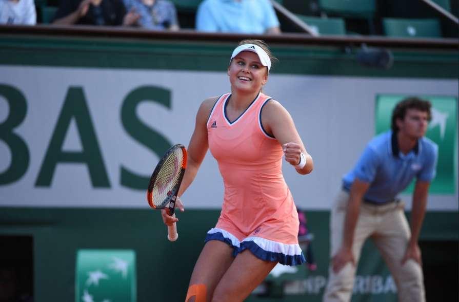 Украинка Екатерина Козлова поднялась на семь ступенек мирового рейтинга теннисисток