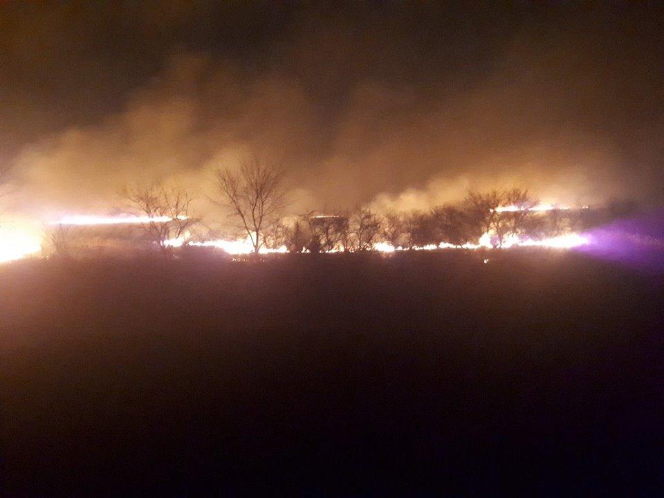 Подожгли траву, а чуть ли не сгорела целая деревня