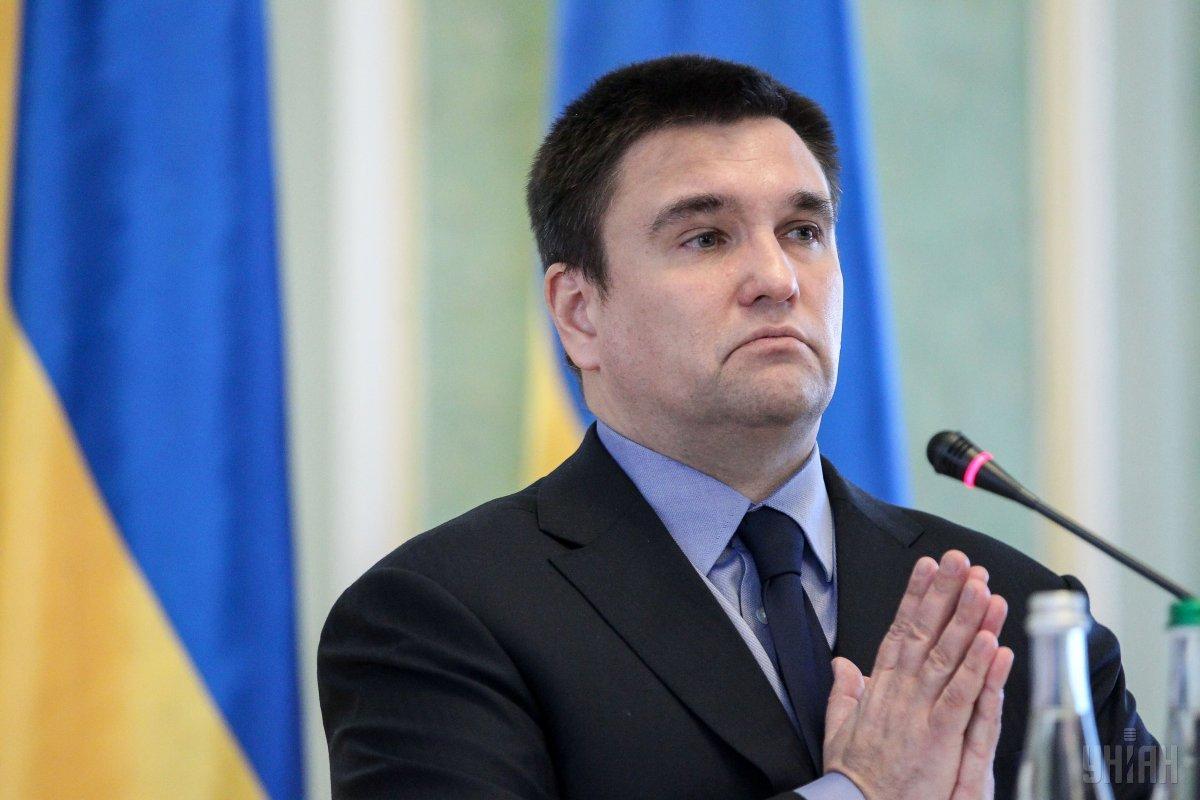 Перед своей отставкой Министр иностранных дел Климкин купил квартиру за 3 миллиона гривен