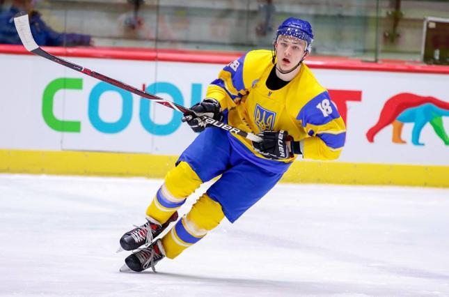 Украинский хоккеист Лялька стал одним из лучших бомбардиров чемпионата мира
