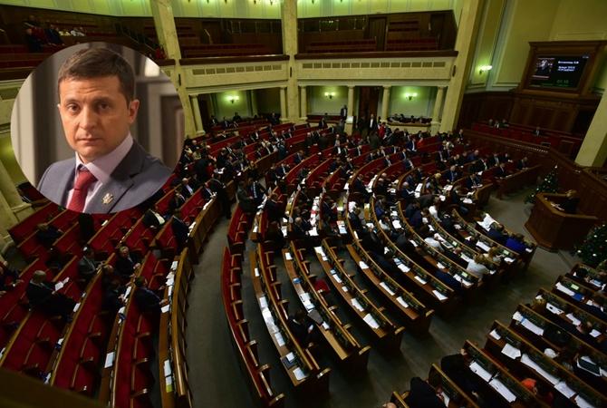 Фракция «Народный фронт» и «БПП» саботируют инаугурацию Зеленского 19 мая и выступили против