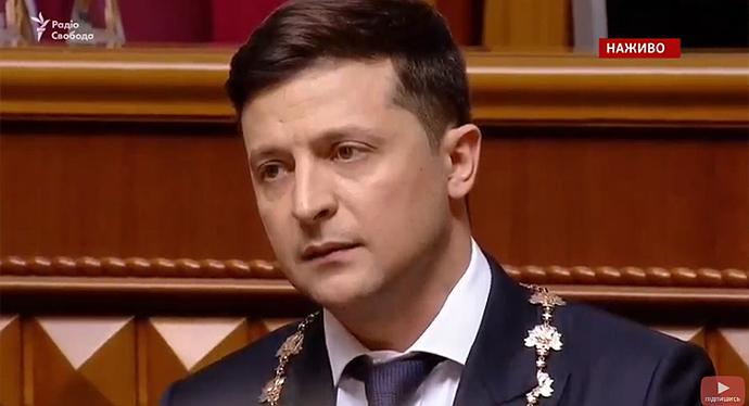 «Делите украинцев!»: Перепалка во время инаугурации. Зеленский резко осадил дерзкого Ляшко