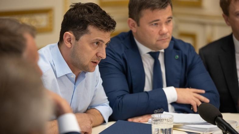 Закон о люстрации: У Зеленского назвали условия увольнения Богдана с должности главы Администрации Президента
