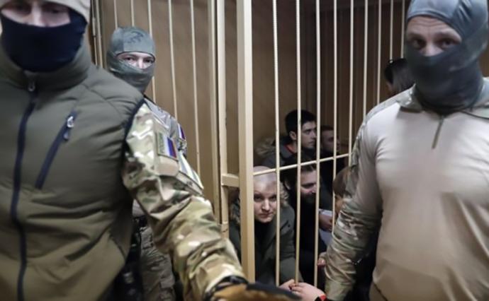 Украинские пленные моряки: в России и не думают выполнять требование Трибунала