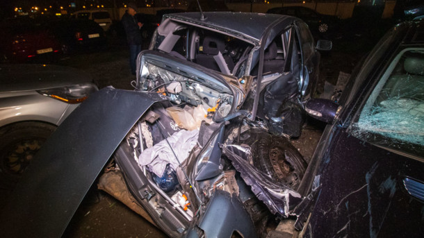«Чудом остался жив»: В столице пьяный водитель протаранил семь автомобилей, некоторые вдребезги