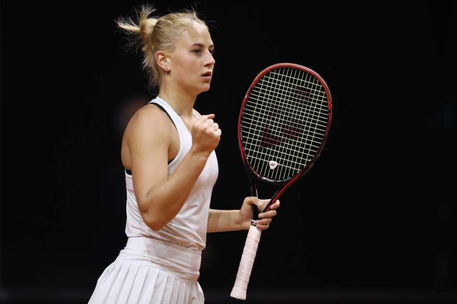 Украинские теннисистки Костюк и Ястремская пробились в четвертьфинал турнира во Франции