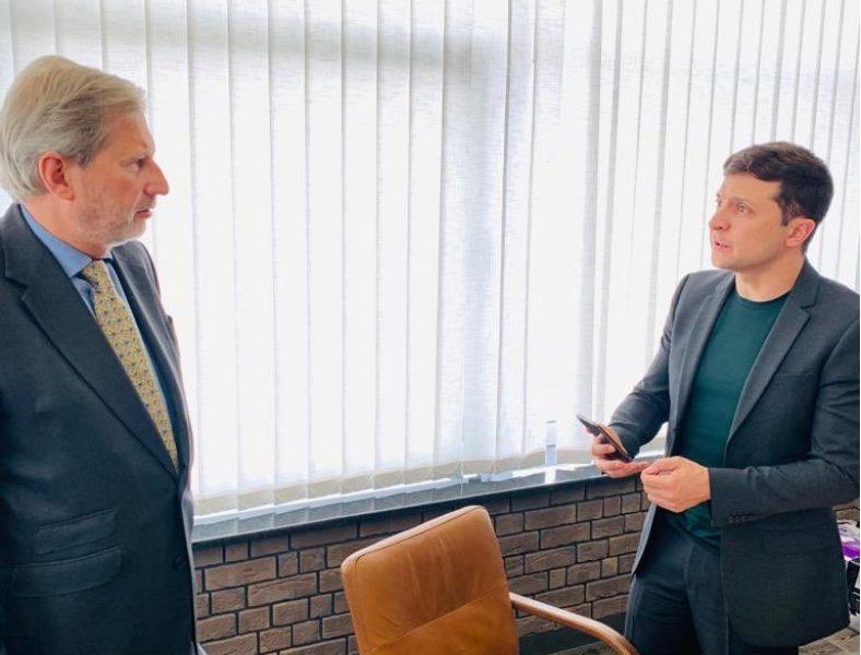 Прекратить огонь! Зеленский провел срочную встречу с Еврокомиссаром. Сильное заявление
