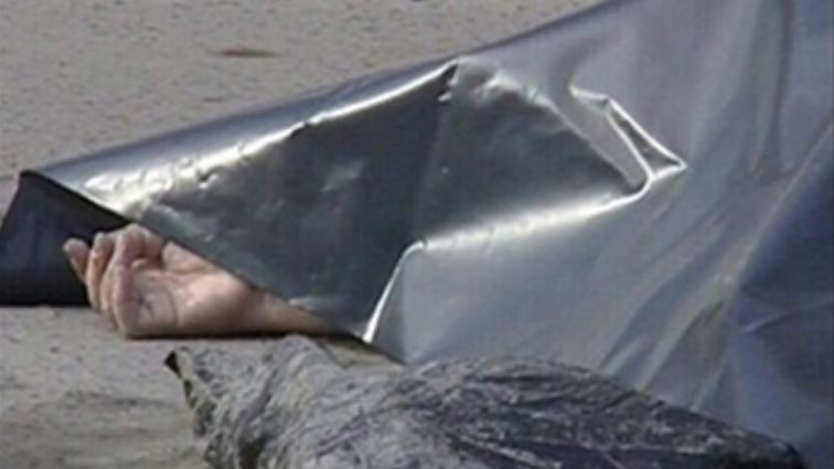 Страшная находка под Донецком: во дворе дома обнаружили труп в мешке