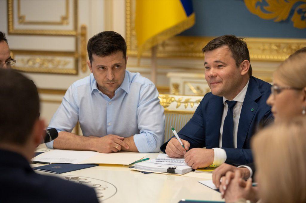«Тимошенко, сценарист» Слуги народа «и Рябошапка»: Кто вошел в Администрацию президента Зеленского