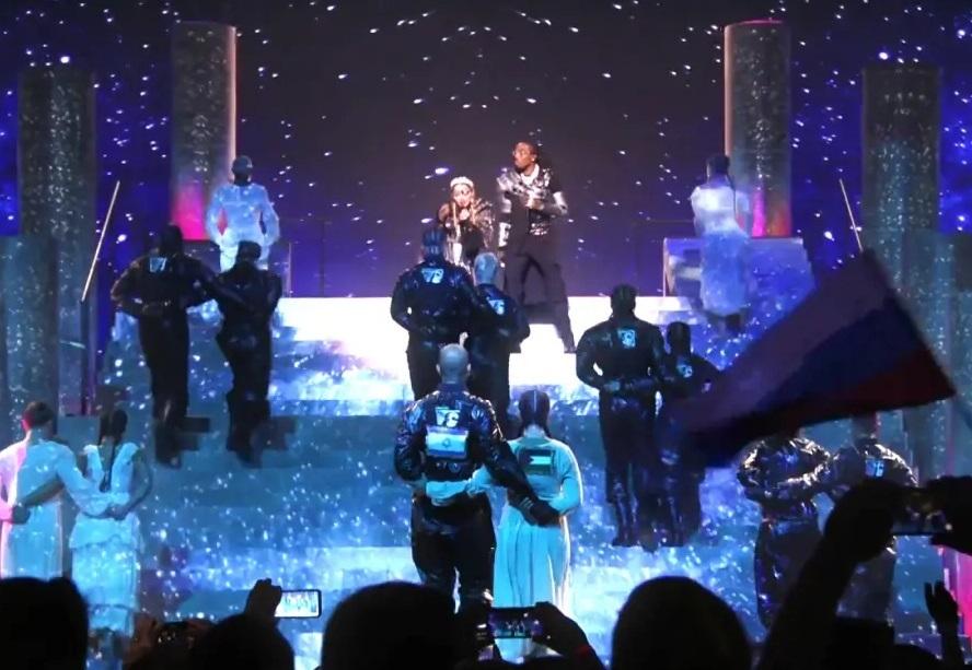 «Еще и во время выступления Мадонны»: На Евровидении вспыхнул громкий политический скандал