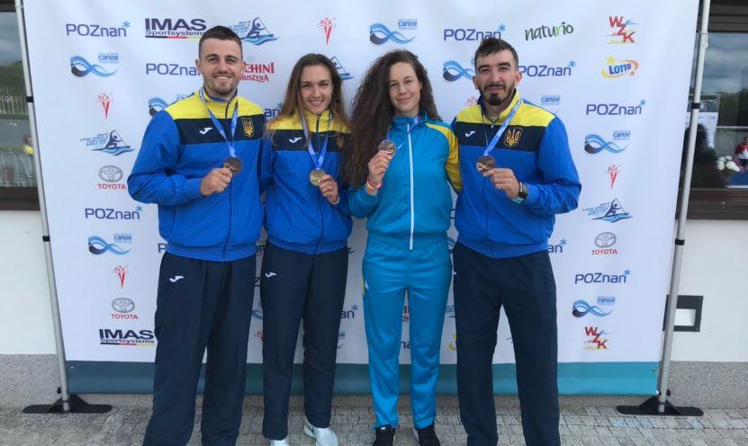 Знай наших: Сборная Украины завоевала золото Кубка мира по гребле