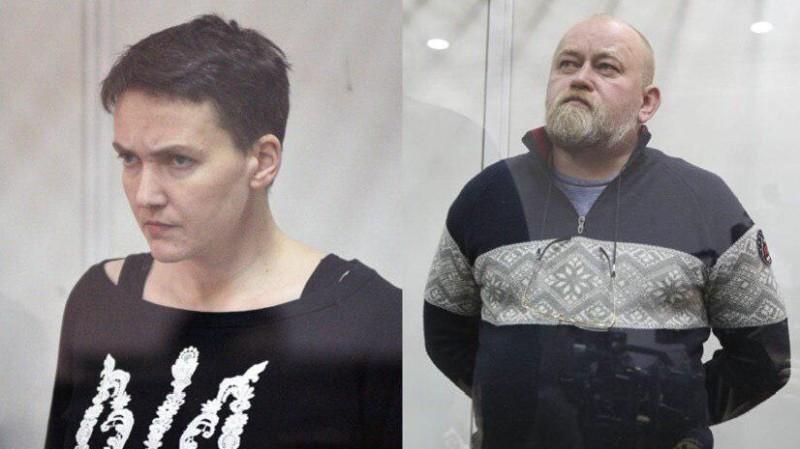 Суд отказал прокурорам в аресте Надежды Савченко и Владимира Рубана, заседание перенесено