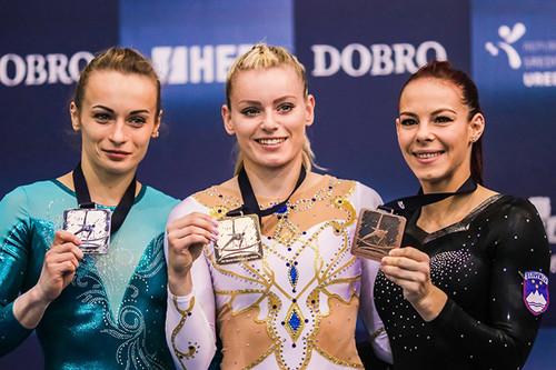 Украинские спортсменки заняли призовые места на соревнованиях в Хорватии