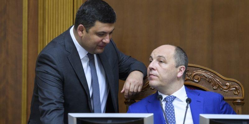 «Серьезно?»: Стало известно, кто может занять место Гройсмана и Парубия. Скандальное заявление!