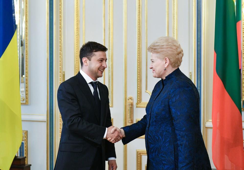 «Наконец-то раздавить!»: Даля Грибаускайте поразила президента Зеленского заявлением во время их встречи
